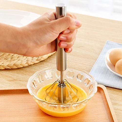 ミルク泡立て器ハンドツール自動泡立て器料理バルーン卵牛乳ビーター(カラー:1)泡立て器泡立て器泡立て器ステンレス半自動電動泡立て器ミキサー (Color : 1, Size : One size)