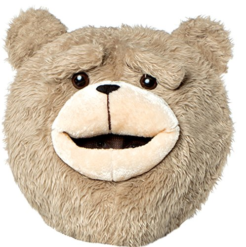 UHC Men's Ted 2 Character Headpiece Funny Theme Party Halloween Adult (Ted Costume For Halloween)