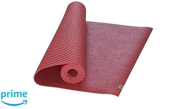 Eco Yoga - Esterilla Rosa Coral Talla:Standard 72