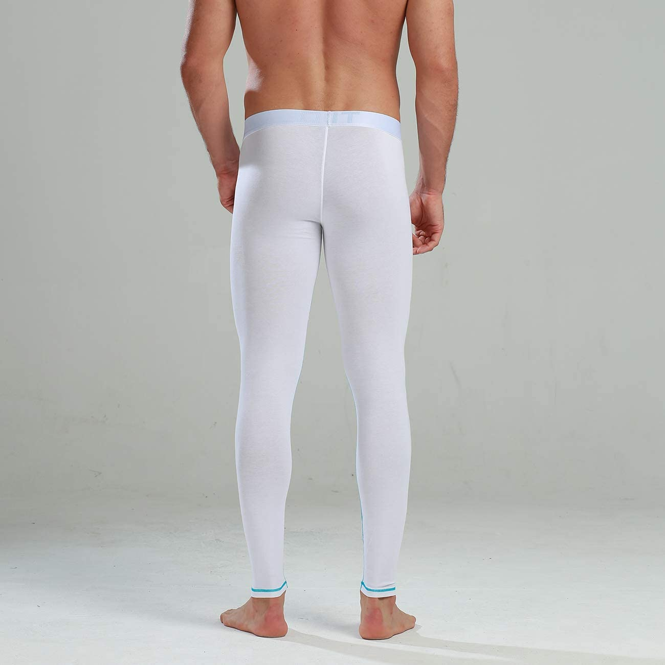 GOGOHOT Mens Thin Pouch Modal/&Cotton Long Underwear Long Johns