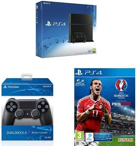 PlayStation 4 (PS4) - Consola 500GB + Pro Evolution Soccer (PES ...