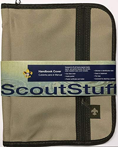 Scout Handbook Cover & Field Book - Book Boy Cover Scout