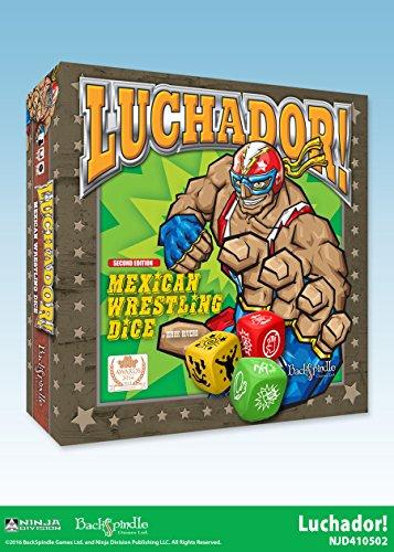 Wrestling Hardcore Game - Ninja Division Luchador Game Board Game