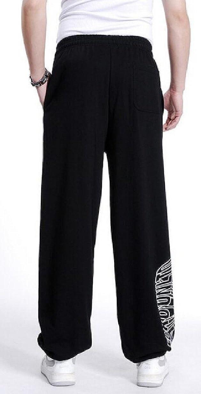Gocgt Mens Casual Sweatpants Hipster Trousers Loose Yoga Pant