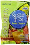 GoLightly Sugar Free Chews, Fruit Chews, 2.75 Ounce Bag (Pack of 12)