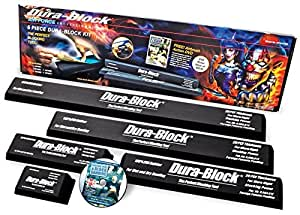 dura block 5 piece auto body sanding block kit dvd automotive. Black Bedroom Furniture Sets. Home Design Ideas