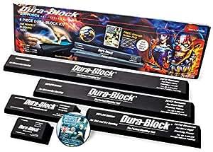 dura block 5 piece auto body sanding block kit dvd automotive. Black Bedroom Furniture Sets. Home Design Ideas