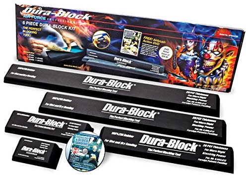 Dura-Block 5 Piece Auto Body Sanding Block Kit + DVD by Dura-Block (Image #2)