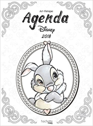 Agenda Art-Thérapie Disney 2018 (Heroes): Amazon.es ...