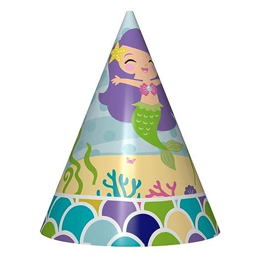 Hualieli Sirena Fiesta Supplies Birthday Party Decoraciones ...