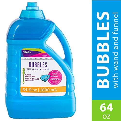 Blowing Up A Whale - Darice 64-Ounce Bubble Solution-Includes Wand and