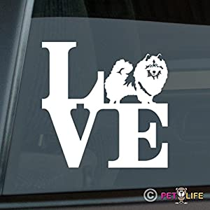 Mister Petlife Love Keeshond Sticker Vinyl Auto Window Park Kees 9