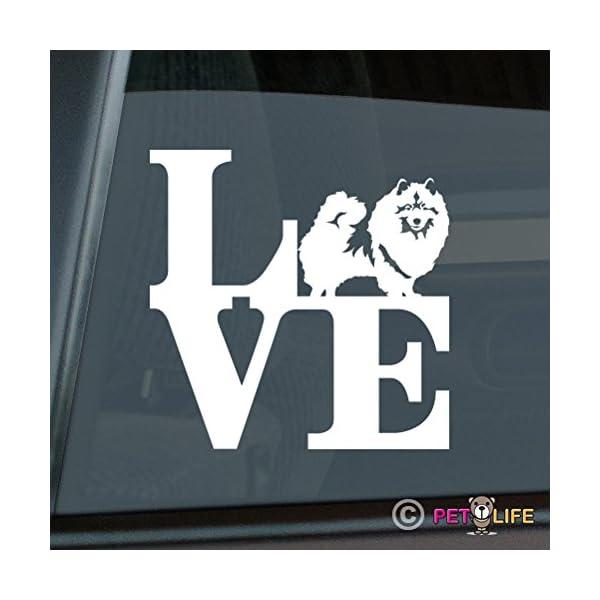 Mister Petlife Love Keeshond Sticker Vinyl Auto Window Park Kees 1