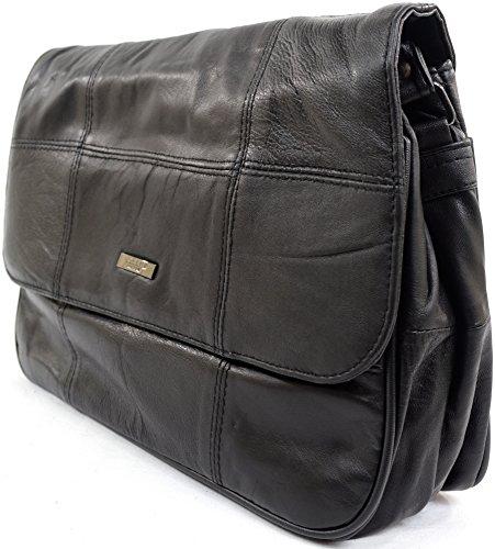 ... Damenhandtasche/Schultertasche aus weichem Nappaleder