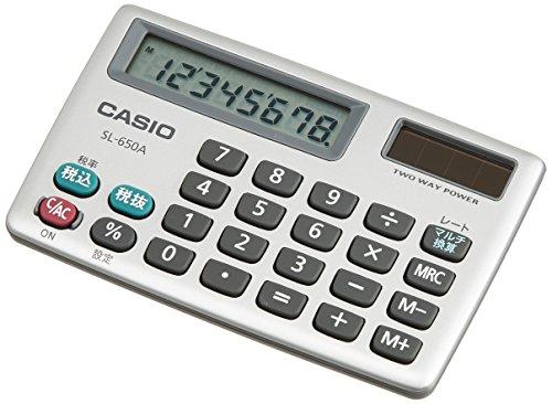 CASIO card type calculator SL-650A-N (japan import)