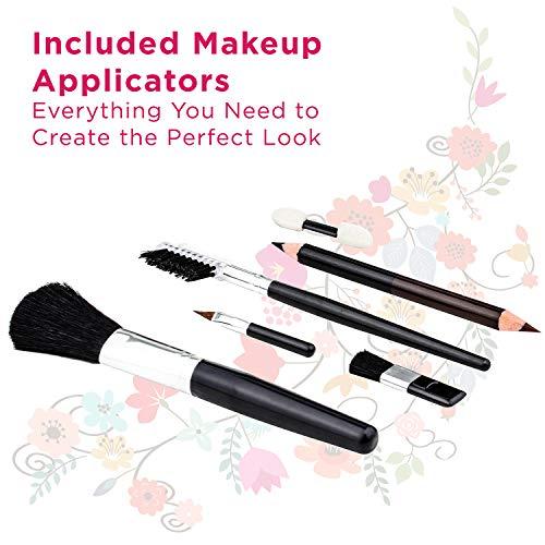 Vokai Makeup Kit Gift Set – 52 Piece – 32 Eye Shadows, 2 Blushes, 4 Lipsticks, 1 Dual-tip Eye Pencil, 1 Dual-tip Lip…