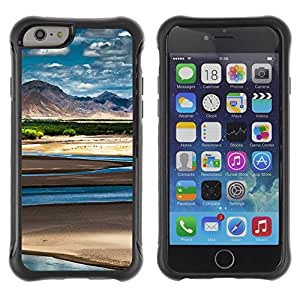 Suave TPU GEL Carcasa Funda Silicona Blando Estuche Caso de protección (para) Apple Iphone 6 / CECELL Phone case / / Nature Beautiful Forrest Green 54 /