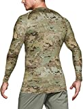 CQR Men's Cool Dry Long Sleeve Tactical Compression