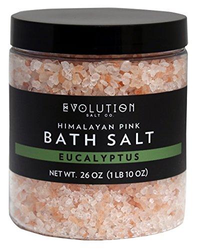 Evolution Salt - Bath Himalayan Salt Coarse Eucalyptus 26 oz