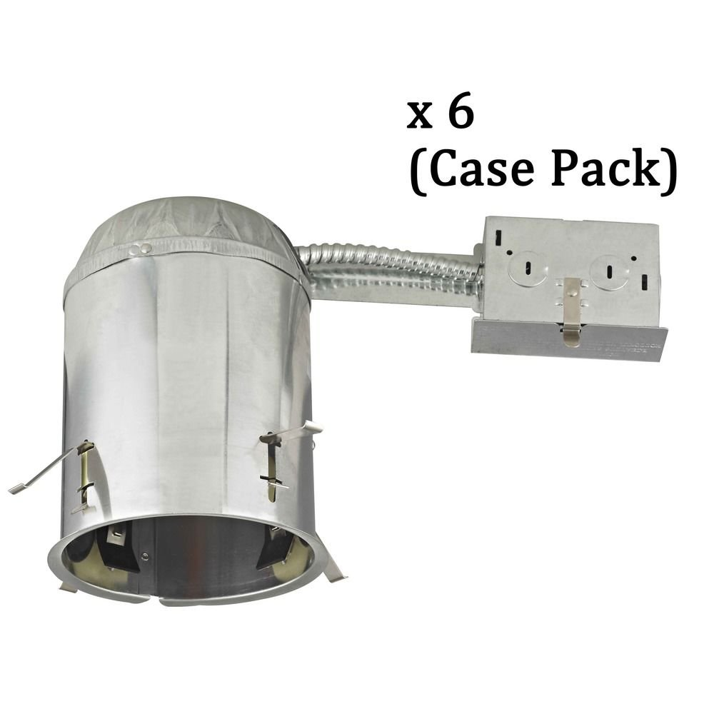 5'' Remodel LED Recessed Can Light - IC Airtight Rated - Case Pack of 6