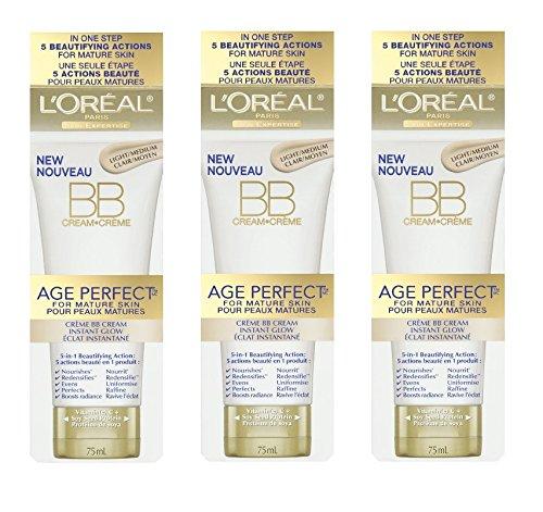 LOreal Paris Age Perfect BB Cream Instant Radiance, 2.5 Ounc
