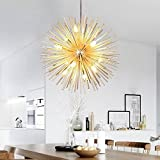 Cheap Golden Sputnik Chandelier Ceiling Light Lamp Pendant Lighting Fixture E14 Light