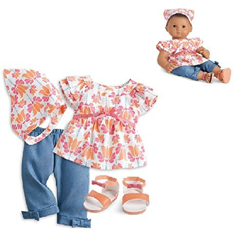 "American girl Bitty Baby Fun in the Sun Outfit for 15"" Dolls (Doll Not Included)"