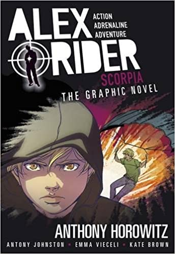 Image result for alex rider graphic novel scorpia