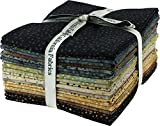 Bali Batiks Bali Dots Topaz 20 Fat Quarter Bundle Hoffman Fabrics 885FQ-238