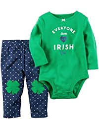 Carter's Baby Girls' 2 Piece St. Patrick Day Set