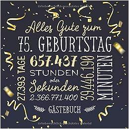 Gratulation Zum 75 Geburtstag 75 Geburtstag