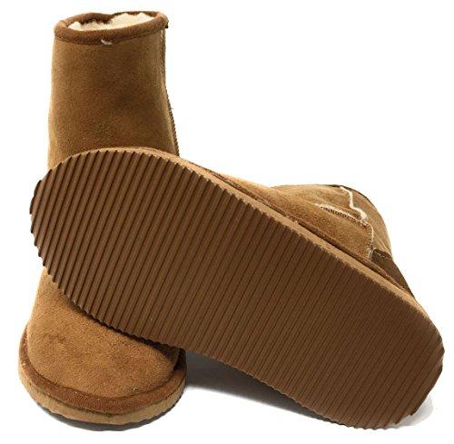 Marrone Donna Pantofole Pelle Glencroft Vari x61USKKRwq