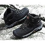 AX BOXING Bottes Homme Hiver Bottines Randonnée Trekking Chaudes Fourrées Chaussures Taille 41-46 13