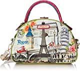 Nicole Lee Nicole Lee Europe Print Bowler Shoulder Bag