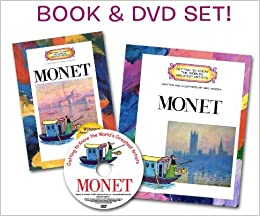 getting to know claude monet artist book dvd set getting to know the worlds greatest artists