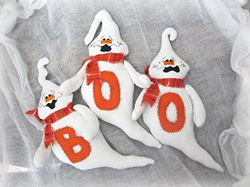 Halloween Ghost Ornaments ()