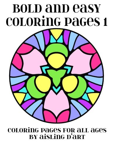 Bold Easy Coloring Pages Ages