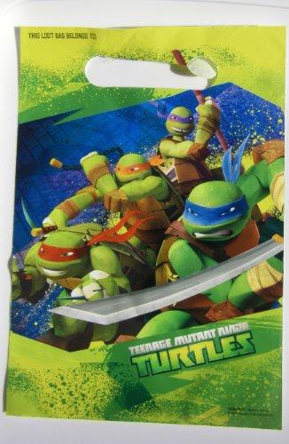 Teenage Mutant Ninja Turtles Loot Bags 8 Bags, Health Care Stuffs