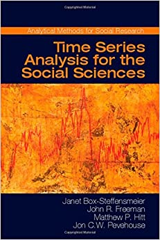 Book Time Series Analysis for the Social Sciences (Analytical Methods for Social Research)
