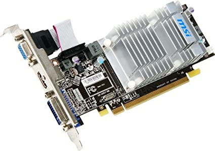 Amazon.com: MSI Radeon HD ddr35450 PCI-Express 2.0, 512 MB ...