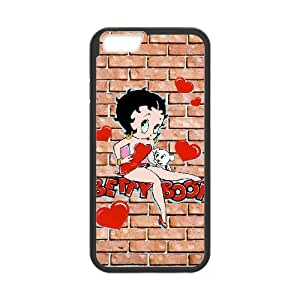 Betty Boop iPhone 6 4.7 Inch Cell Phone Case Black Tiugg