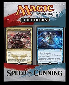 MAGIC THE GATHERING DUEL DECK SPEED VS CUNNING