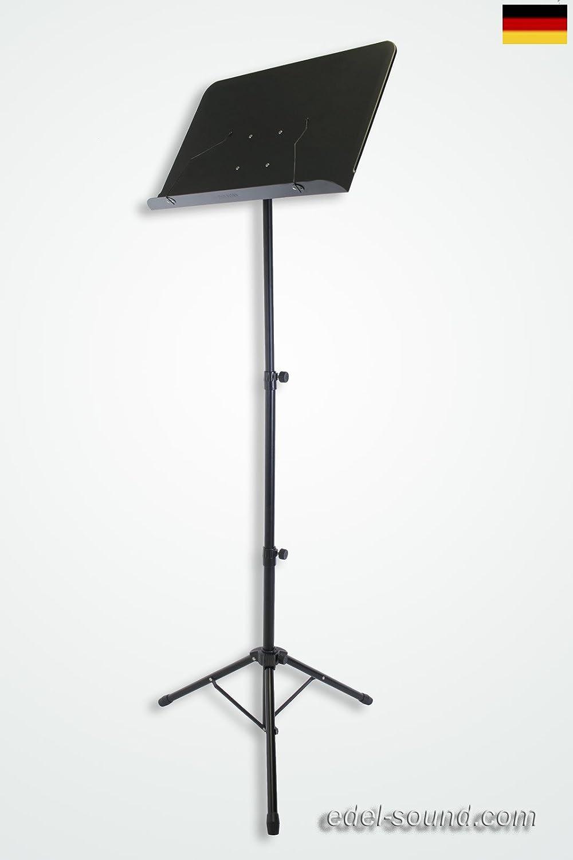 Notenpult Notenstativ Stativ Notenstand faltbar Stahl Notenständer ultra Muziekstandaarden Accessoires