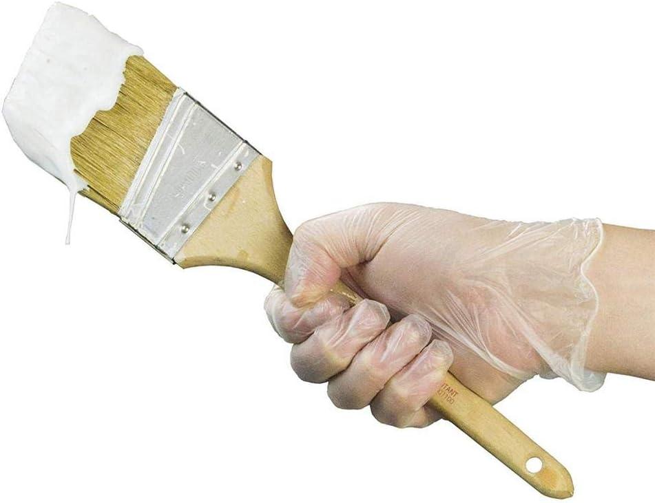 winnerruby 100 St/ück PVC-Handschuhe Reinigungsschutzhandschuhe