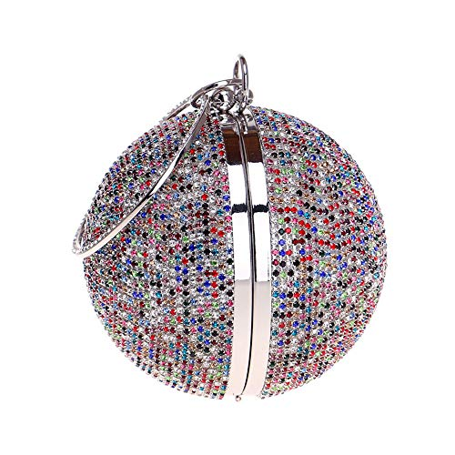 à Fashion Yellow main Clutch de Spherical diamant sac soirée sac Ms main à sac xOqwIE8w