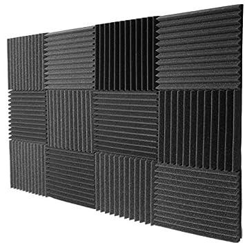 Espuma de aislamiento acústico, cuña de acústica de Mybecca ...
