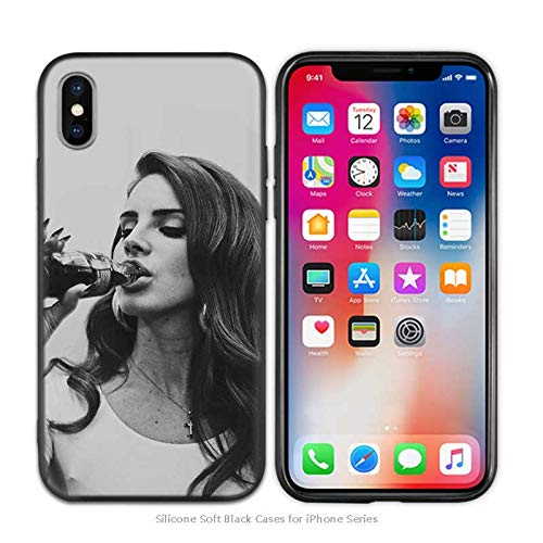Inspired by Lana Del Rey Phone Case Compatible With Iphone 7 XR 6s Plus 6 X 8 9 Cases XS Max Clear Iphones Cases TPU- Greatest- Remix- Doll- Banner- Banner- 32969273740