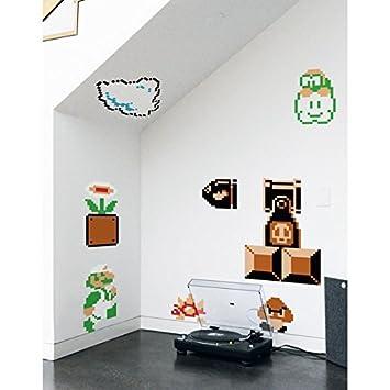 Amazon.com: blik Super Mario Bros. Re-stick Wall Decals: Baby