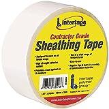 Intertape 85518 12 Pack 1.88in x 54.6yds Sheathing Tape, White