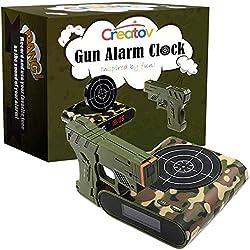 Creatov design Camouflage Gun Alarm Clock Limited Edition 2.0